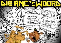 Here's Die Antwoord (now what was the question again?) [Cartoon by JERM] Youtube Sensation, Die Antwoord, Political Cartoons, Editorial, Nerd, This Or That Questions, Otaku