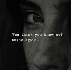 Think again.. ☺