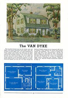 daily bungalow >> 1939 liberty kit houses van dyke