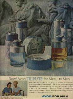 1963  Avon Tribute for Men ad (#  1135)
