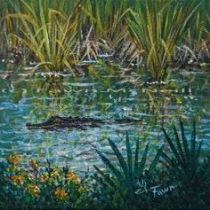 Fawn's Paintings: Adams Ranch Spring,