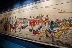 The Last Invasion Tapestry Art Society, Textiles, Tapestry, Stitch, Tapestries, Full Stop, Stitching, Sew, Stitches