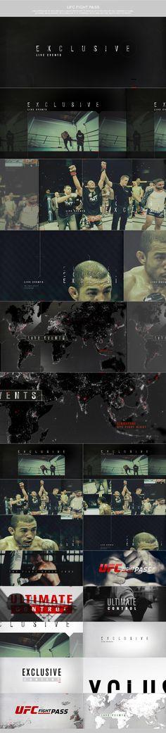 motion graphics/ storyboards/ styleframes | UFC - DANIEL ONASSIS