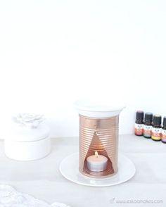 Faire un diffuseur d'huile essentielle à l'aide d'une boite de conserve vide, un DIY récup original Make an essential oil diffuser using an empty can, an original DIY upcycling