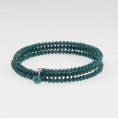 Deja Vu - Armbänder (blau-türkis)