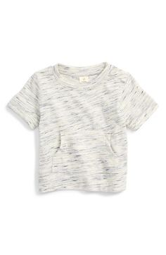 Free shipping and returns on Tucker + Tate Space Dye Shirt (Baby Boys) at Nordstrom.com. A heathered space-dye knit adds to the cool and casual look of a short-sleeve shirt with a roomy kangaroo pocket.