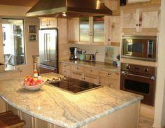 Kitchen Ideas ☆ Light tones - Granite tops