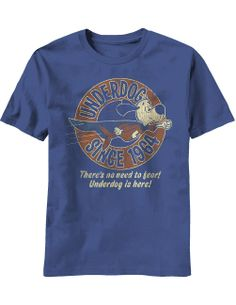 There's No Need To Fear Underdog Is Here, 1964 Retro T-Shirt