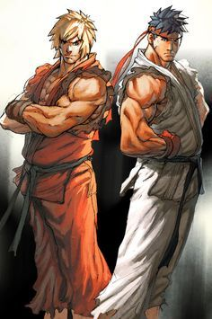Ken Masters, is a video game character in the Street Fighter series. Being one of the main character and the best friend and rival of Ryu, Ken has appeared in a Ken Street Fighter, Street Fighter Characters, Super Street Fighter, Ryu Ken, Ken Masters, World Of Warriors, Super Anime, King Of Fighters, Animes Wallpapers