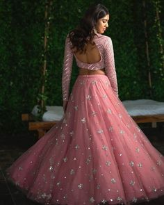 Top 15 Designer Bridal Lehenga for Wedding - Fashion Girls Indian Wedding Gowns, Indian Gowns Dresses, Indian Bridal Lehenga, Pink Bridal Lehenga, Pink Lehenga, Saree Wedding, Bride Dresses, Half Saree Designs, Lehenga Designs