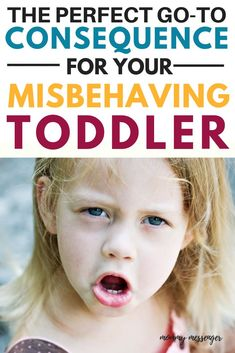 Logical Consequences to Improve Your Child's Behavior – Effective Consequences for Kids at Home or at School – The Perfect Go To Consequence For Your Misbehaving Toddler - Education and lifestyle Toddler Behavior, Toddler Discipline, Gentle Parenting, Parenting Advice, Parenting Toddlers, Child Development, Kids House, Awakening, Parents