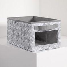 Your Way ® Rectangle - Mystic Grey Storage Area, Cube Storage, Storage Organization, Pvc Windows, Neat And Tidy, Thirty One Gifts, Seasonal Decor, Storage Solutions, Decorative Boxes