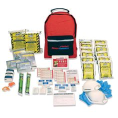 Get the Ready America Grab-and-Go Kit Backpack grab and go kit 2 person contains enough emergency supplies to sustain two people for three days at The Home Depot Survival Life Hacks, Emergency Survival Kit, Emergency Supplies, Emergency Response, Survival Tips, Survival Skills, Survival Supplies, Outdoor Survival, Day Backpacks