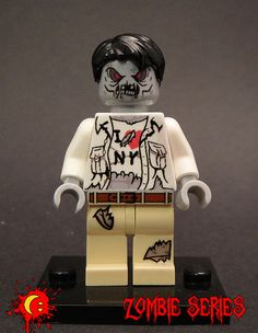 On the one hand he's totally evil and probably going to kill me.  On the other, he loves New York. There's something I like about this guy. #Zombies #Lego