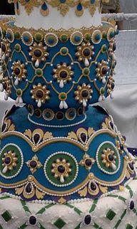 Faberge style cake