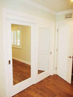 Top Hung Closet Doors are perfect if you're in need of some new closet doors that will leave your floors untouched. These 2-track, 2-panel, Ovation Top Hung closet doors were recently installed in Arcadia, California and might be similar to what you're looking for in new closet doors! Call (866) 567-0400 or visit www.8665670400.com today to have yours installed!
