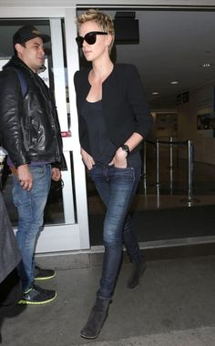 Love Charlize Theron's style