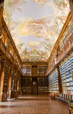 Strahov Library by Alexandre Olv on 500px