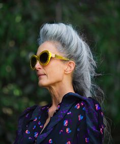 Cathy Cooper. Hair roll