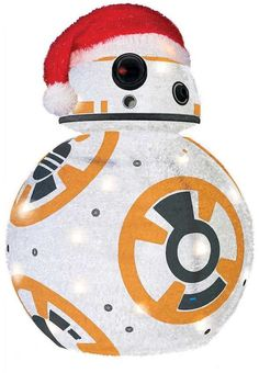 Kurt Adler 28-in. Star Wars BB8 Lighted Indoor / Outdoor Tinsel DecorClick on the image for more info. #christmas #christmasdecor | christmas decorations outdoor | christmas decorations outdoor porch | christmas decorations outdoor lights | christmas decorations outdoor yards | Christmas Decorations - Outdoor | christmas yard decorations | christmas yard decorations outdoor | christmas yard decorations lights | outdoor christmas decor | Christmas yard decorations | Christmas Yard Decorations…