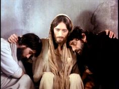 Jesus Of Nazareth with John, the disciple Jesus loved, and Simon, called Peter