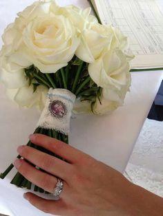 Beautiful bouquet charm...