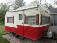 1965 Pathfinder Travel Trailer Camper Vintage