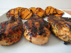 Chipotle-Honey Glazed Chicken - Moist tender, juicy grilled chicken ...