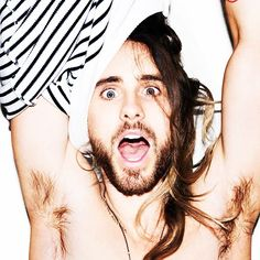 Jared Leto.- Holy guacamole!! Photo byTerry Richardson.- (via http://instagram.com/p/l7spnRTBXz/