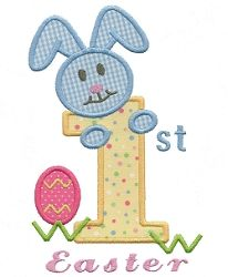 First Easter Applique - 2 Sizes! | Easter | Machine Embroidery Designs | SWAKembroidery.com Applique for Kids