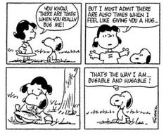Turning Down the Negative Noise-Snoopy Style.Snoopy you are so hugable ! Snoopy Comics, Snoopy Cartoon, Peanuts Cartoon, Peanuts Snoopy, Peanuts Comics, Dog Cartoons, Dog Comics, Snoopy Love, Snoopy And Woodstock