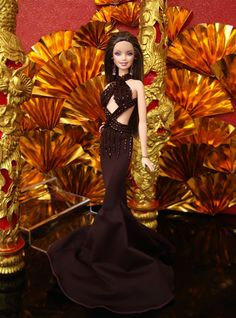 MISS BEAUTY DOLL 2010 HONG KONG / FIRST ROUND EVENING GOWN - MISS BD PUERTO RICO