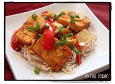 Sauté de tofu aux cinq épices