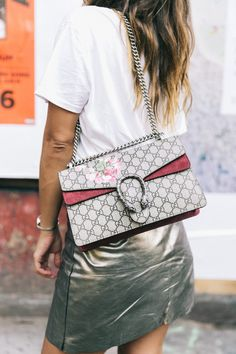 nyfw-new_york_fashion_week_ss17-street_style-outfit-collage_vintage-metallic_leather_skirt-gucci_bag-soludos_espadriles-36
