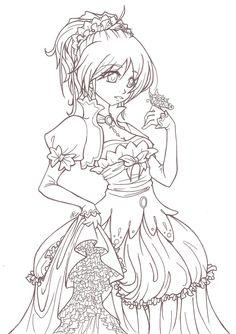 My Fare Flower by *angelnablackrobe on deviantART