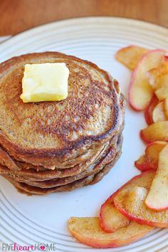 Gingerbread Pancakes ~ perfect for a holiday breakfast or any day!