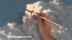 Painting clouds in oil or acrylic, tips tricks and techniques follow up video from Tim Gagnon Studio