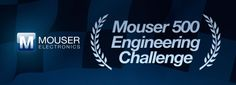 Take on the Mouser 500 Engineering Challenge and help the Mouser /  KV Racing Technology Team solve some of their most intriguing challenges.    Your ideas, concepts, and ingenuity could win you a new iPad3 and the chance to own a piece of IndyCar memorabilia – an autographed Tony Kanaan racing helmet!