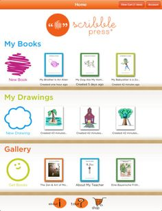 Scribble Press FREE for iPad is a book creation platform that allows kids to imagine, create and share their own stories with great drawing and writing tools. Download your books instantly to your iBooks library! Scribble Press for iPad makes it easy to create an ebook – either write your own or use one of over 50 story templates.