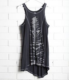 """SanCerre Bennett Tunic - with """"skeleton"""" placement tie dye Best Yet, Signature Style, Winter Outfits, Tie Dye, Tunic, Clothes For Women, Tank Tops, Skeleton, Stuff To Buy"""