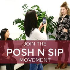 Posh N Sip - Hosts Wanted! #4 In the early days of Poshmark, Posh Parties were small get togethers in our office. We used them to introduce the concept of Poshmark to our friends. Now, five years and millions of passionate Poshers later, we're returning to our roots. Posh N Sip is a nationwide event where Poshers across the country Posh N Sip with their friends to help them get started on Poshmark.  Learn more by visiting blog.poshmark.com. The next Posh N Sip happens May 14th! See closet…