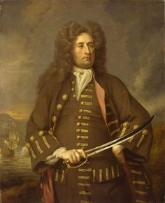 1705-1708 Michael   Dahl  - Sir Thomas Hopsonn