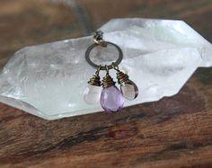inhale love. exhale peace. necklace