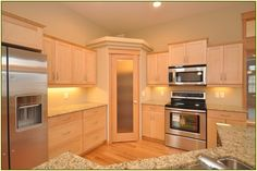 Best Brown Corner Kitchen Cabinet Pantry Cabinet Base Cabinets And Wall Cabinets With Orange Color