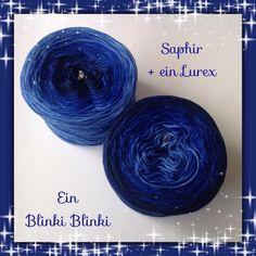 Wolle Saphir Blinki 5 fädiges Farbverlaufsgarn
