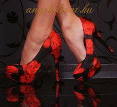 fekete cipő - Google keresés Platform, Heels, Google, Red, Black, Fashion, Heel, Moda, Black People