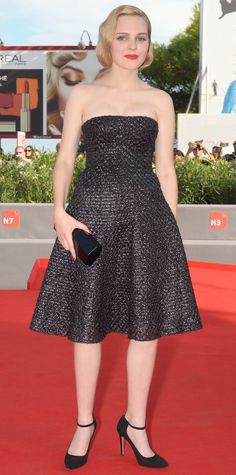 The Best of the 2015 Venice International Film Festival Red Carpet - Odessa Young - from InStyle.com