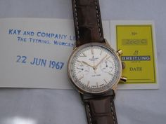 Breitling Top Time Chronograph Serviced with original Papers