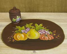 Fall Harvest Placemat -- Kick off the season with placemats for your fall table.