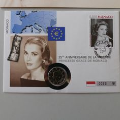 GRACE KELLY - STAMP